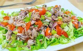Rețetă pentru salată de caracatiță în stil grecesc la Kostas